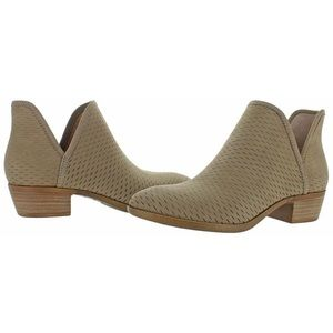 Lucky Brand | Light Brown, Perforated Booties